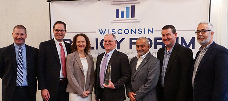 City of Waukesha Recognized by the Wisconsin Policy Forum